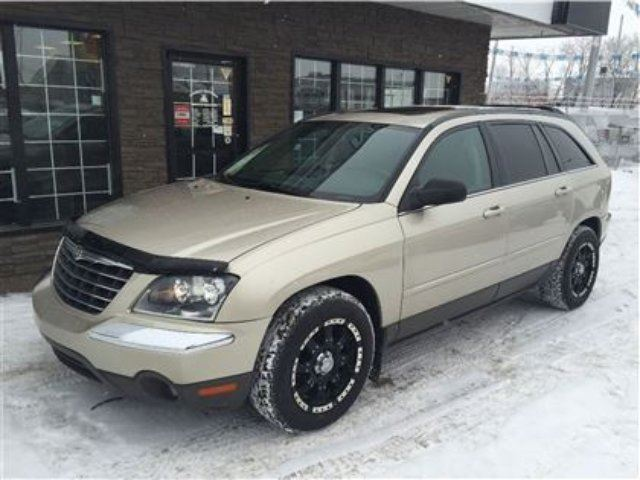 2005 Chrysler Pacifica Awd Loaded Only 92k Tan Family