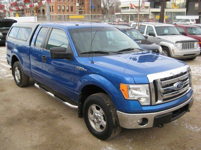 2010 ford f 150 xlt 4x4 super cab 6 5 ft box 145 in wb edmonton alberta used car for sale. Black Bedroom Furniture Sets. Home Design Ideas
