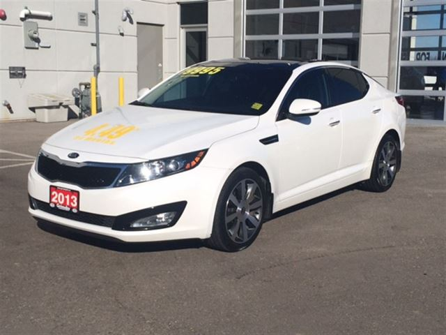 2013 kia optima ex luxury brand new tires grimsby. Black Bedroom Furniture Sets. Home Design Ideas