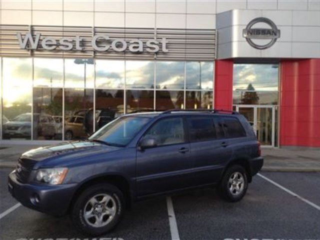 2003 Toyota Highlander Base V6 in Pitt Meadows, British Columbia