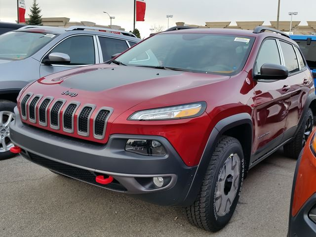 2016 jeep cherokee trailhawk 4x4 vaughan ontario car for sale 2343214. Black Bedroom Furniture Sets. Home Design Ideas