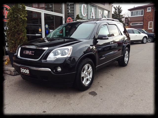 2008 gmc acadia slt awd sunroof leather8 captin chairs. Black Bedroom Furniture Sets. Home Design Ideas