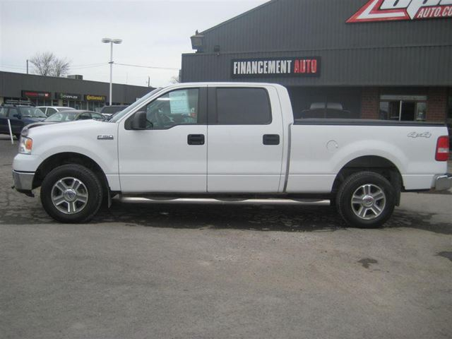 Used 2007 ford f 150 xlt club cab financement maison for Automobile financement maison