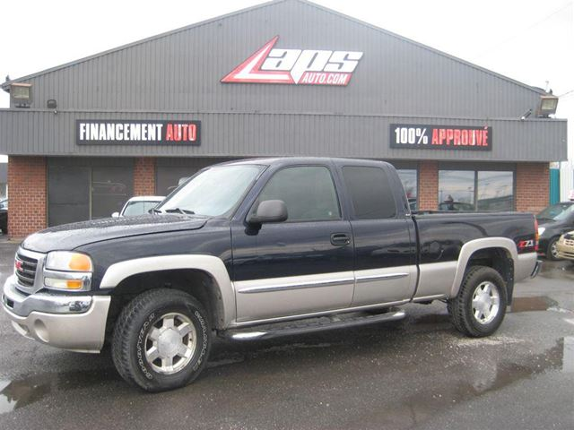 2006 GMC Sierra 1500 SLE Financement Maison in Sainte-Catherine, Quebec