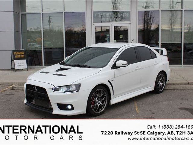 2015 Mitsubishi Lancer EVO GSR! HIGHLY MODIFIED!! - Calgary, Alberta Car For Sale - 2344904