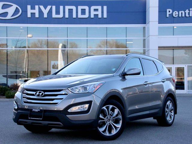 2016 hyundai santa fe 2 0t limited 4dr all wheel drive silver auto loan kelowna. Black Bedroom Furniture Sets. Home Design Ideas
