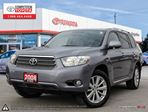 2008 Toyota Highlander Limited One Owner, Toyota Serviced in London, Ontario