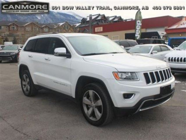 2015 Jeep Grand Cherokee Limited in Canmore, Alberta