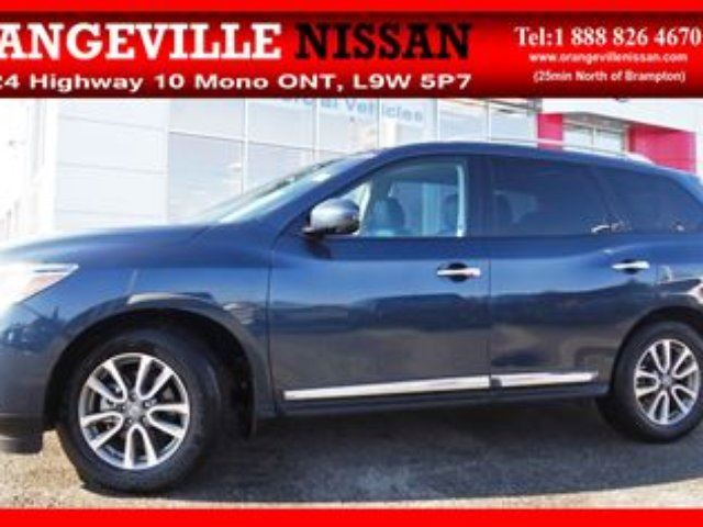 2015 NISSAN Pathfinder SL Demo Like New! Leather Navi in Orangeville, Ontario