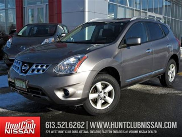 2013 nissan rogue s awd special edition ottawa ontario used car for sale 2347491. Black Bedroom Furniture Sets. Home Design Ideas