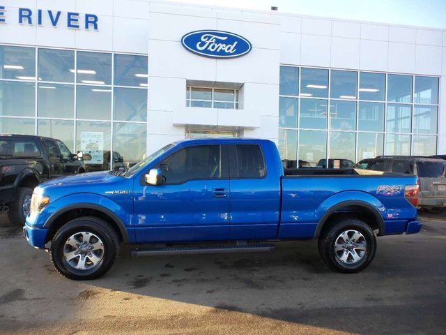 2013 ford f 150 fx4 4x4 supercab 6 5 ft box 145 in wb blue peace river ford sales. Black Bedroom Furniture Sets. Home Design Ideas