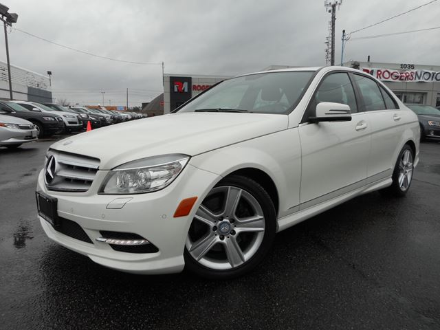 Used 2011 mercedes benz c300 4matic navi full sensors for Mercedes benz ontario phone number