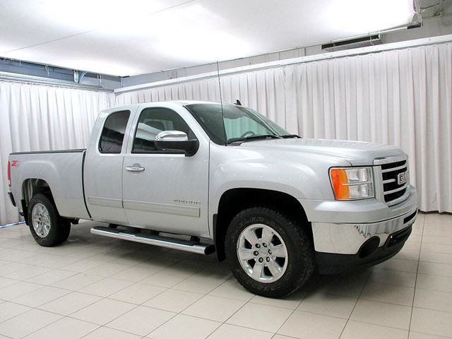 2013 gmc sierra sle 1500 z71 5 3l 4x4 extended cab 6pass silver o 39 regan 39 s chevrolet buick gmc. Black Bedroom Furniture Sets. Home Design Ideas