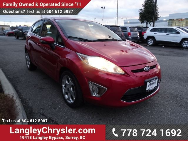 2011 ford fiesta ses surrey british columbia used car. Black Bedroom Furniture Sets. Home Design Ideas