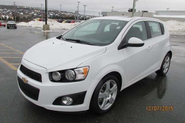 2015 chevrolet sonic lt st john 39 s newfoundland and. Black Bedroom Furniture Sets. Home Design Ideas