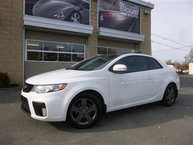 2012 kia forte koup 2 0l ex white yves g blouin auto inc. Black Bedroom Furniture Sets. Home Design Ideas