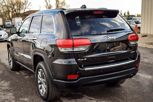 used 2015 jeep grand cherokee limited 4x4 bluetooth backup. Black Bedroom Furniture Sets. Home Design Ideas