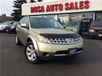 2007 Nissan Murano AWD AUTO SL POWER GROUPE SAFETY ETEST NO ACCIDENT in Oakville, Ontario