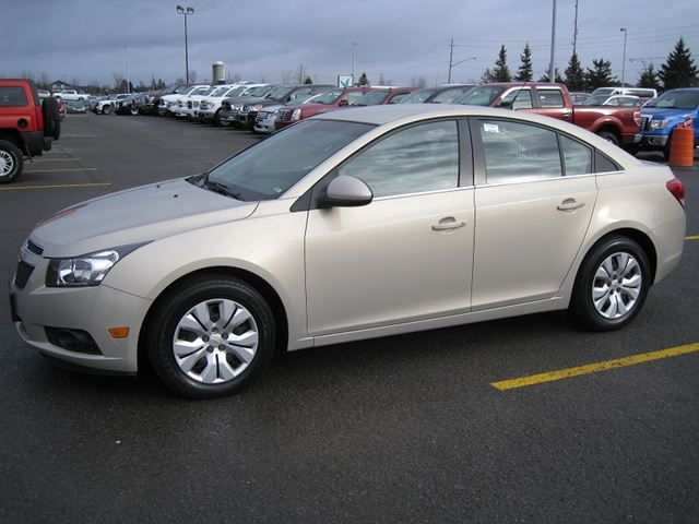 2012 chevrolet cruze lt turbo w 1sa certified e tested vars ontario used car for sale. Black Bedroom Furniture Sets. Home Design Ideas