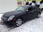 2004 Infiniti G35 6 Speed Manual, RWD, Navigation, Leather in Burlington, Ontario