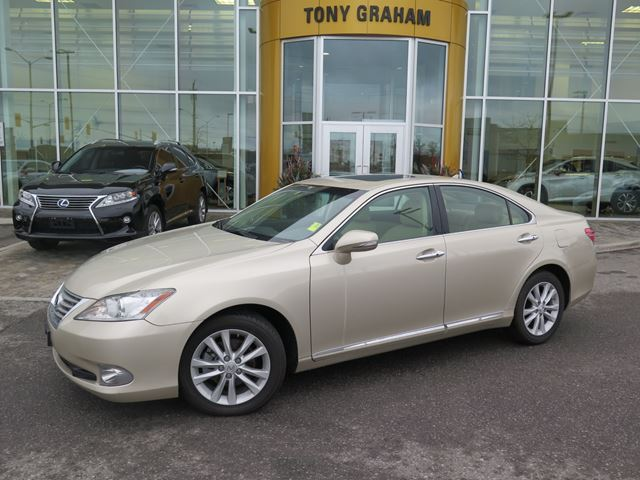 2011 lexus es 350 navigation pkg beige tony graham lexus. Black Bedroom Furniture Sets. Home Design Ideas
