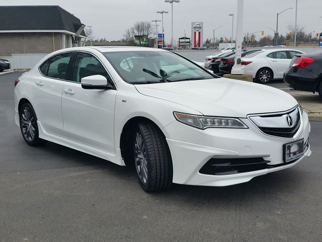2016 acura tlx v6 tech sh awd white acura of hamilton. Black Bedroom Furniture Sets. Home Design Ideas