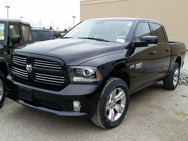 2016 dodge ram 1500 sport milton ontario new car for sale 2354094. Black Bedroom Furniture Sets. Home Design Ideas