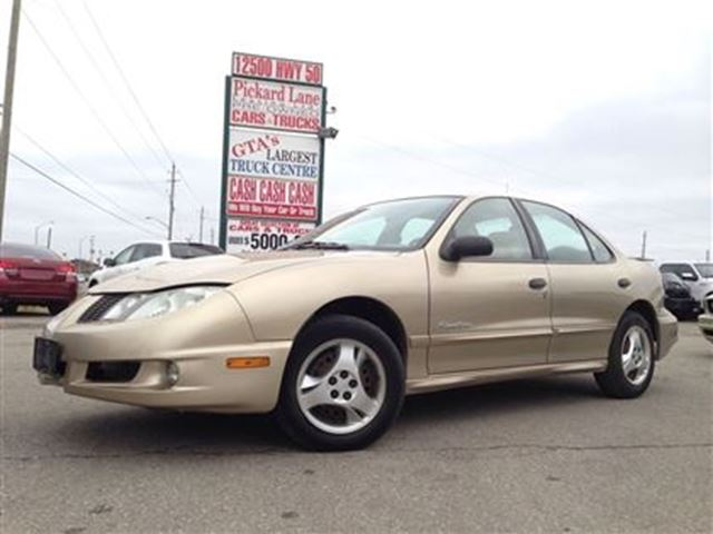 2005 pontiac sunfire slx certified and e tested gold. Black Bedroom Furniture Sets. Home Design Ideas