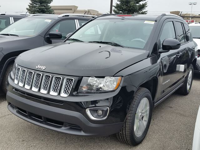 2016 jeep compass high altitude 4x4 vaughan ontario new car for sale 2356811. Black Bedroom Furniture Sets. Home Design Ideas