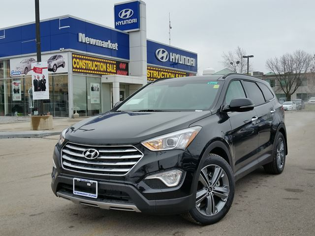 2016 hyundai santa fe xl limited xl 7p black newmarket hyundai new car. Black Bedroom Furniture Sets. Home Design Ideas