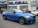 2014 BMW M235i ESTORIL BLUE COUPE 320HP in Ottawa, Ontario