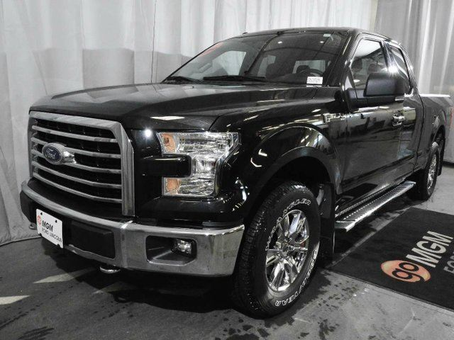 2015 ford f 150 xlt 4x4 supercab 6 5 ft box 145 in wb red deer alberta used car for sale. Black Bedroom Furniture Sets. Home Design Ideas