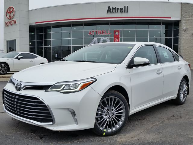 2016 toyota avalon limited white attrell toyota new. Black Bedroom Furniture Sets. Home Design Ideas