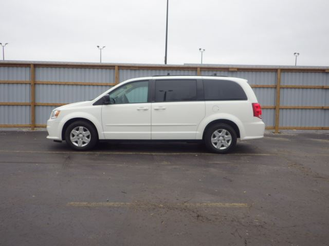 2013 Dodge Grand Caravan Sxt White Haldimand Motors