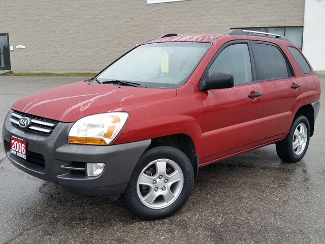 2006 kia sportage lx fwd red groh motors. Black Bedroom Furniture Sets. Home Design Ideas