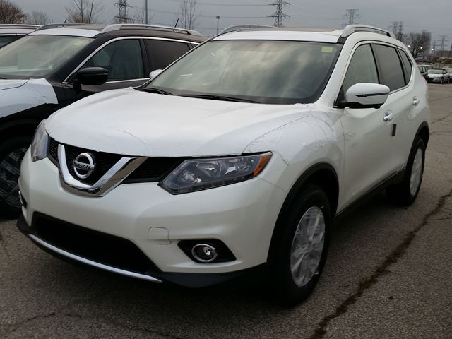 2016 nissan rogue sv awd white sherway nissan new car. Black Bedroom Furniture Sets. Home Design Ideas