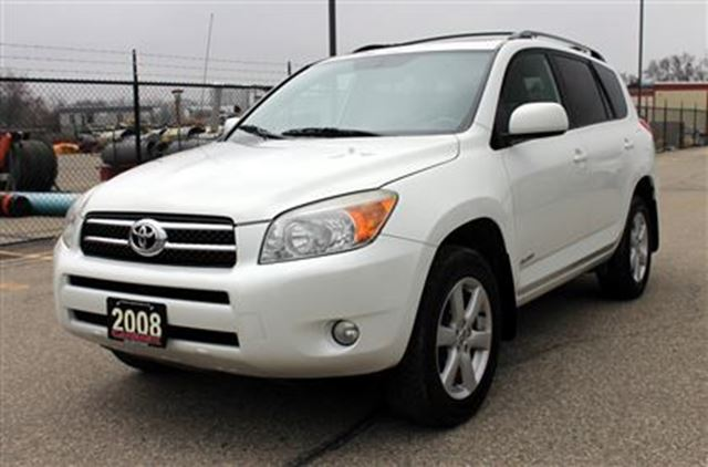 2008 toyota rav4 limited 4x4 107km sunroof kitchener. Black Bedroom Furniture Sets. Home Design Ideas