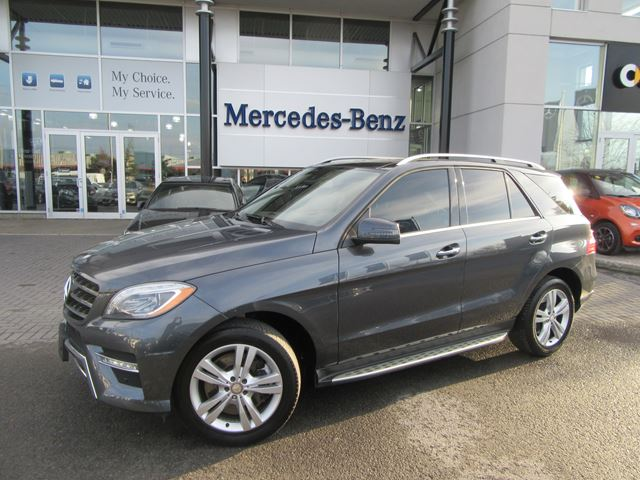 2013 Mercedes Benz Ml350 4matic Tenorite Grey Met Star
