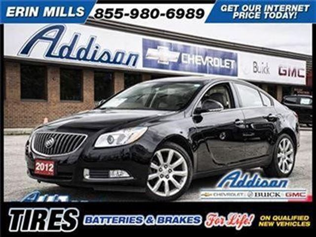2012 BUICK Regal Turbo w/1SR in Mississauga, Ontario