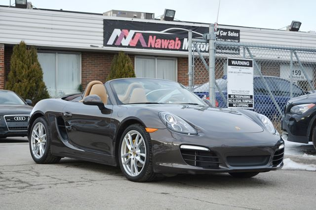 2013 porsche boxster brampton ontario used car for sale 2361046. Black Bedroom Furniture Sets. Home Design Ideas