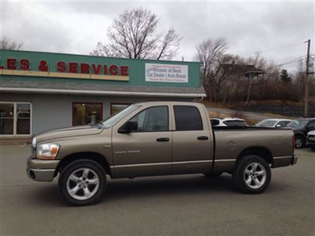 2006 dodge ram 1500 slt new glasgow nova scotia used car for sale. Black Bedroom Furniture Sets. Home Design Ideas