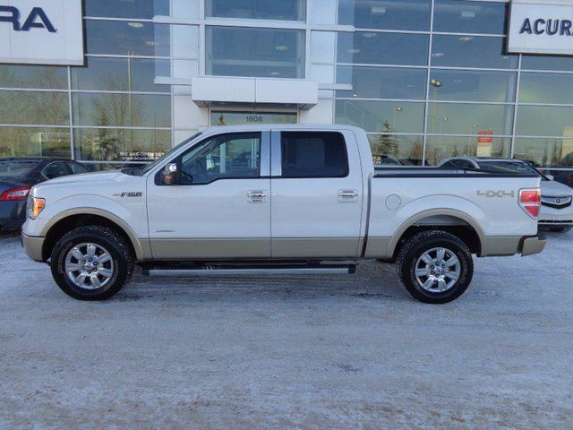2012 ford f 150 lariat 4x4 supercrew cab 5 5 ft box 145 in wb red deer alberta used car for. Black Bedroom Furniture Sets. Home Design Ideas
