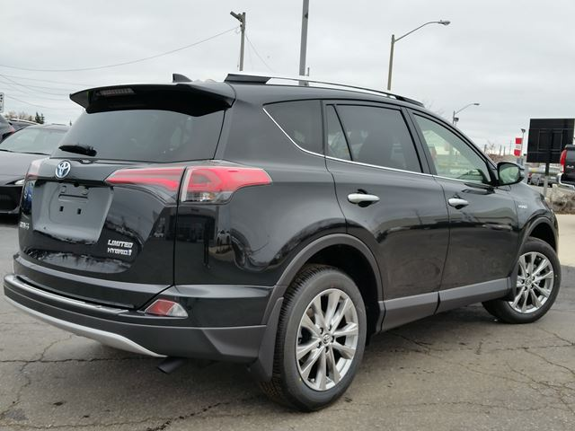 2016 toyota rav4 limited hybrid black for 40087 in brampton. Black Bedroom Furniture Sets. Home Design Ideas