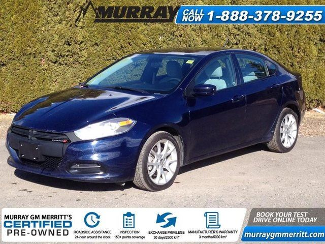 2013 DODGE DART SXT/Rallye in Merritt, British Columbia
