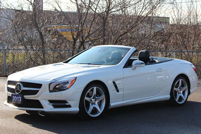 Used 2013 mercedes benz sl class sl550 roadster only 28k for Used mercedes benz sl550