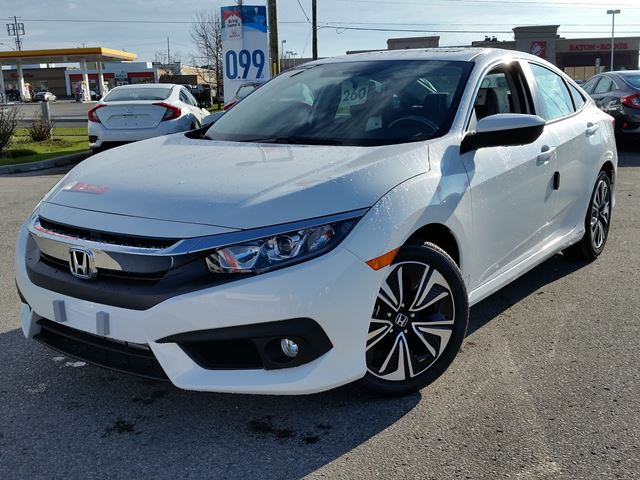 2016 honda civic ex t white whitby oshawa honda new car. Black Bedroom Furniture Sets. Home Design Ideas