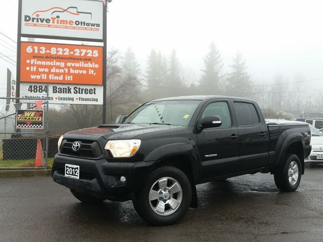 2012 toyota tacoma trd sport double cab 4x4 black drive. Black Bedroom Furniture Sets. Home Design Ideas