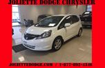 2013 Honda Fit LX (A5) BLANC AC BLUETOOTH in Joliette, Quebec