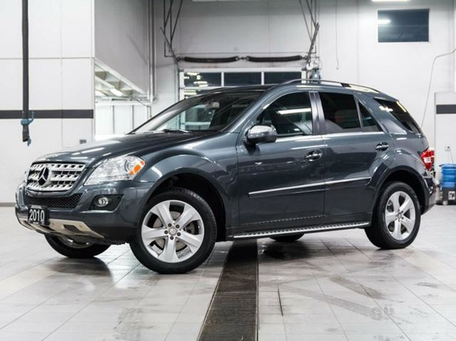 2010 mercedes benz m class ml350 4matic grey kelowna for Mercedes benz ml350 4matic 2010