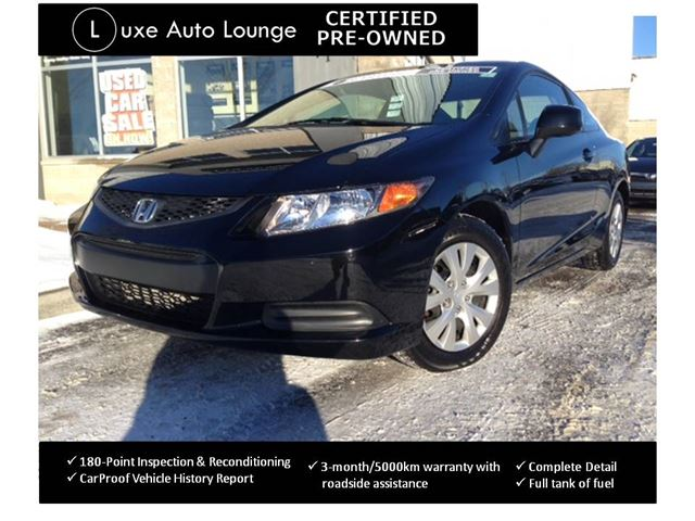 2012 honda civic lx sporty coupe bluetooth power group for Honda civic certified pre owned